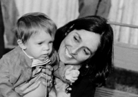 Joan Baez and Son